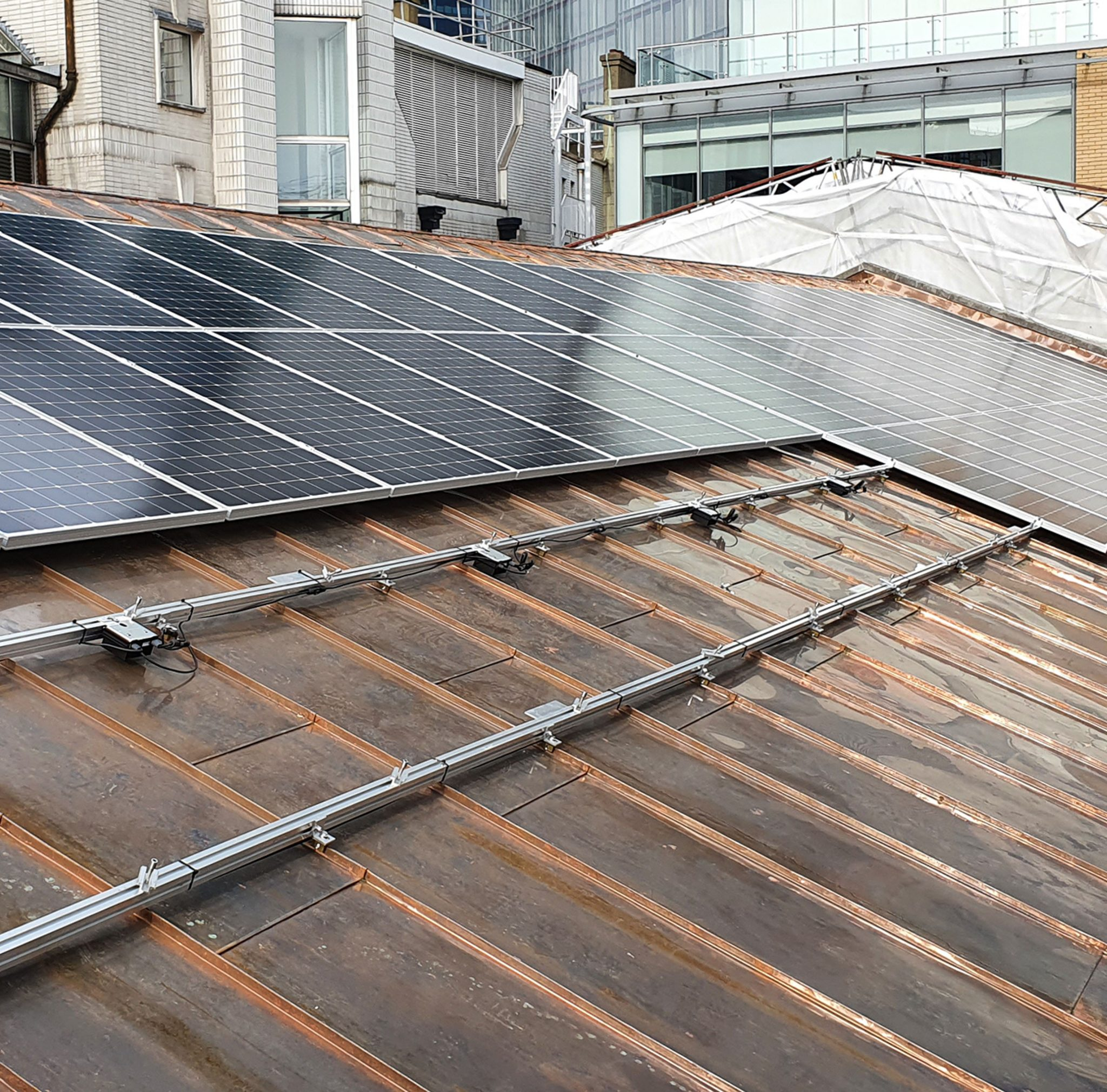 Commercial Solar Installation in Middlesex