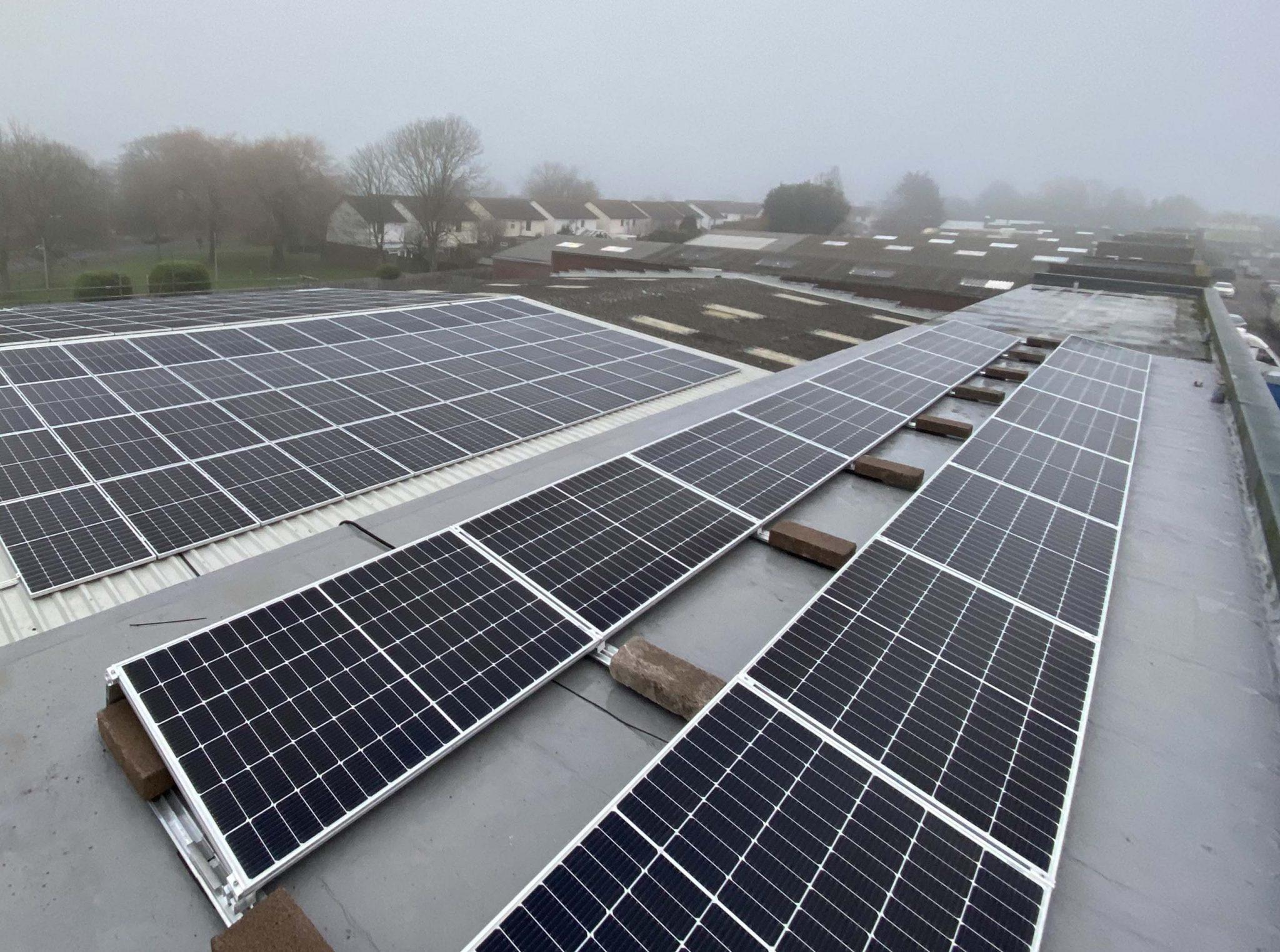 Solar Installation in Hampshire
