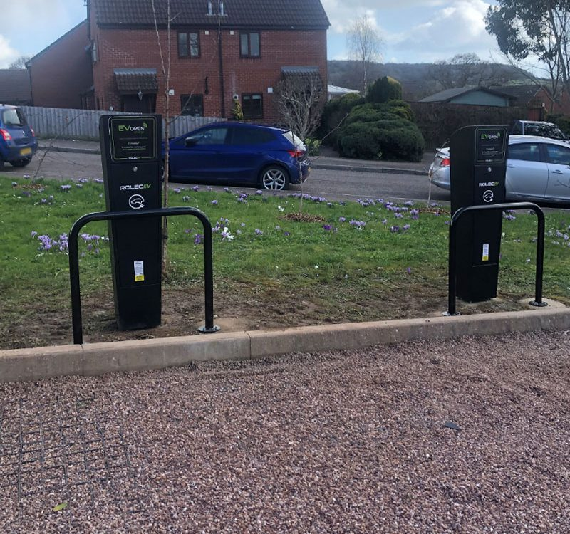 Ev chargepoint installs