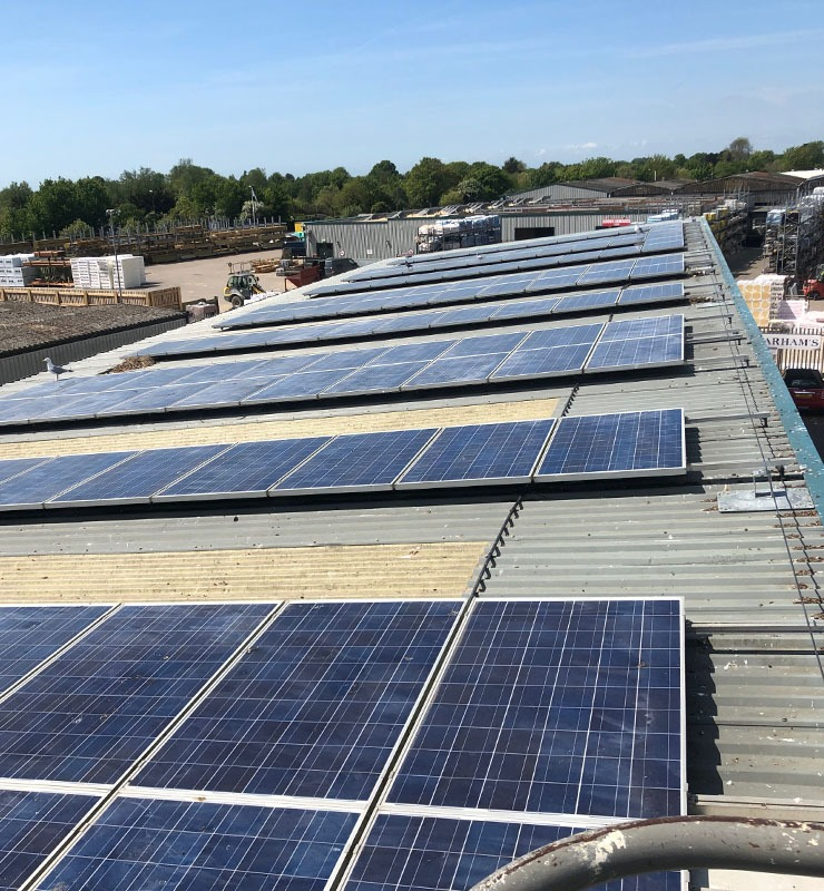 Clean solar panel maintenance Chichester 1922