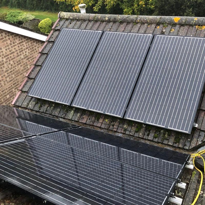 Domestic solar installer dorset