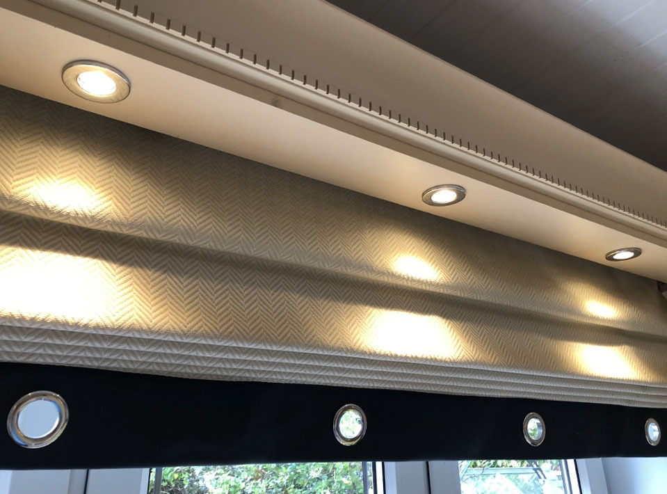 Led lighting install in kitchen