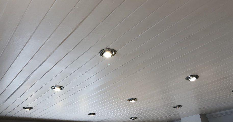 Kitchen LED lighting installation