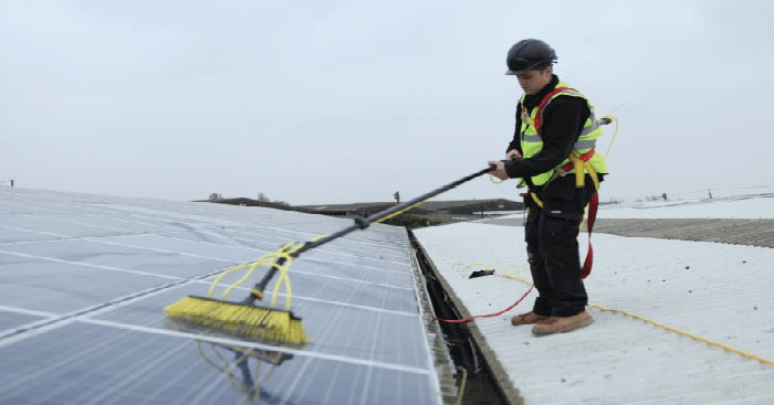 Domestic Solar Installers Maintenance Clean