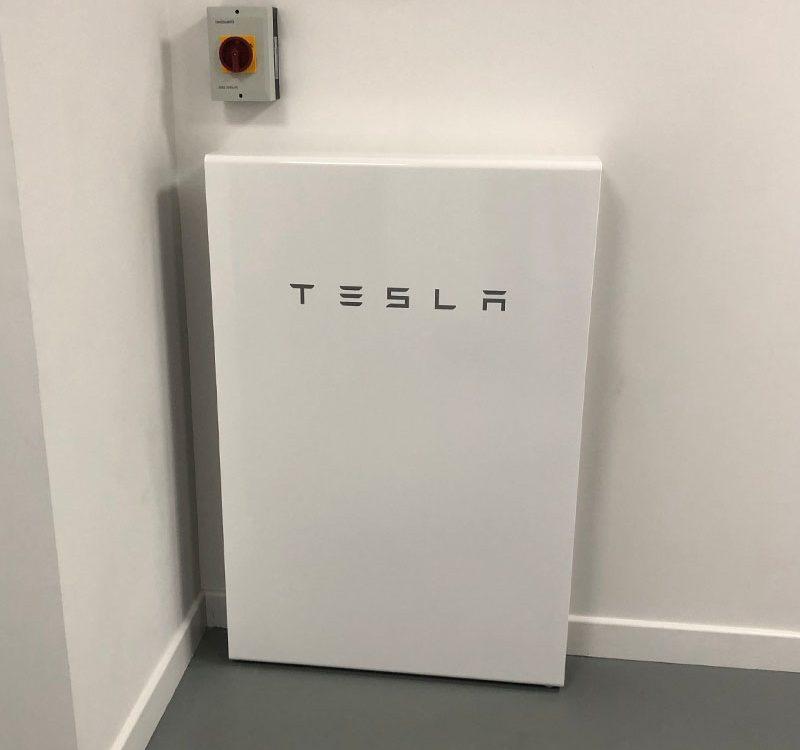 Tesla powerwall install