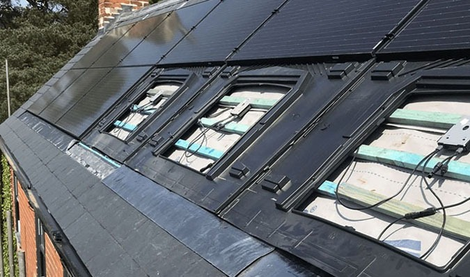 In roof solar panels 2