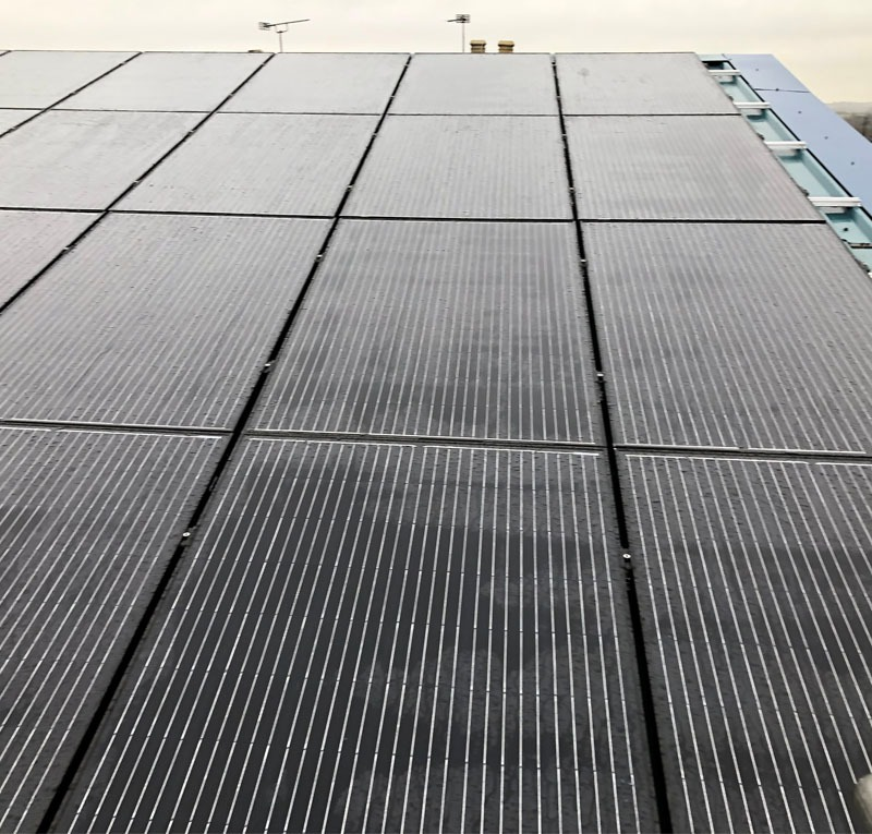 Solar panel install in alfreton