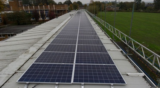 Solar installation For Schools