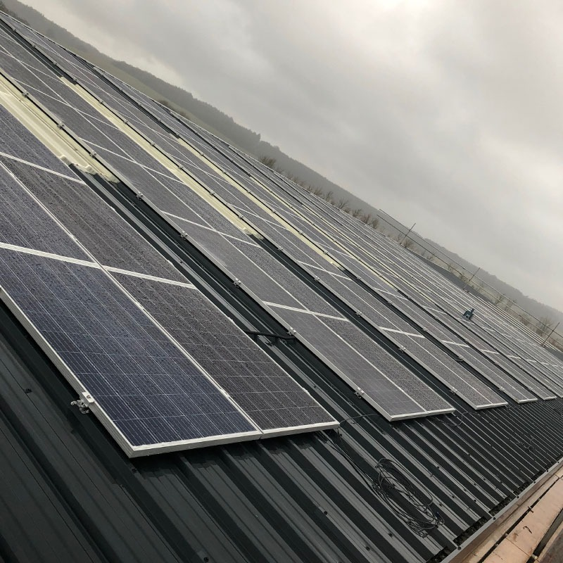 Solar panel install in wiltshire