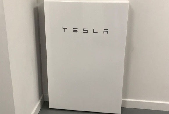 Tesla for battery storage web page