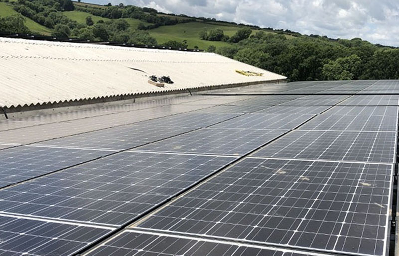 Commercial solar maintenance in web