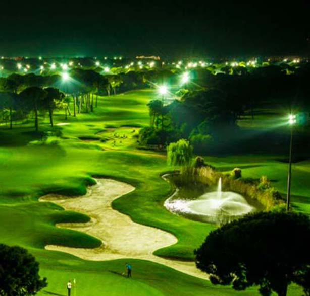 nighttime golf course 2