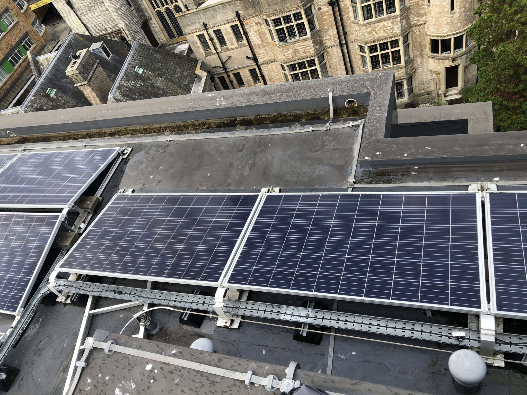 Commercial Solar Cleaning, Maintenance For A Client In  Dorset