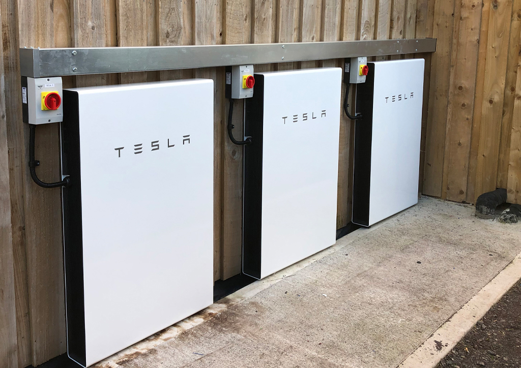 tesla powerwalls installation