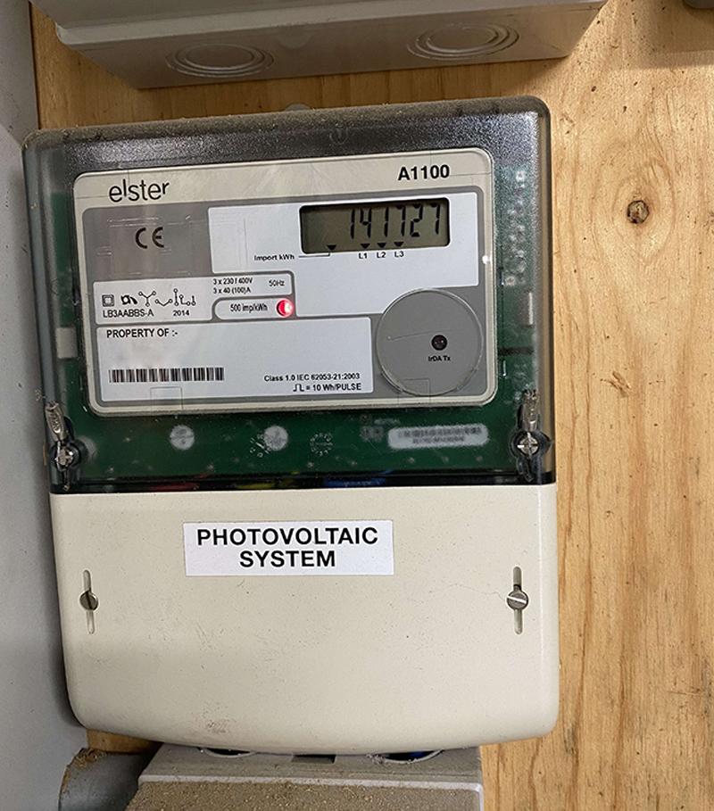 solar pv meter