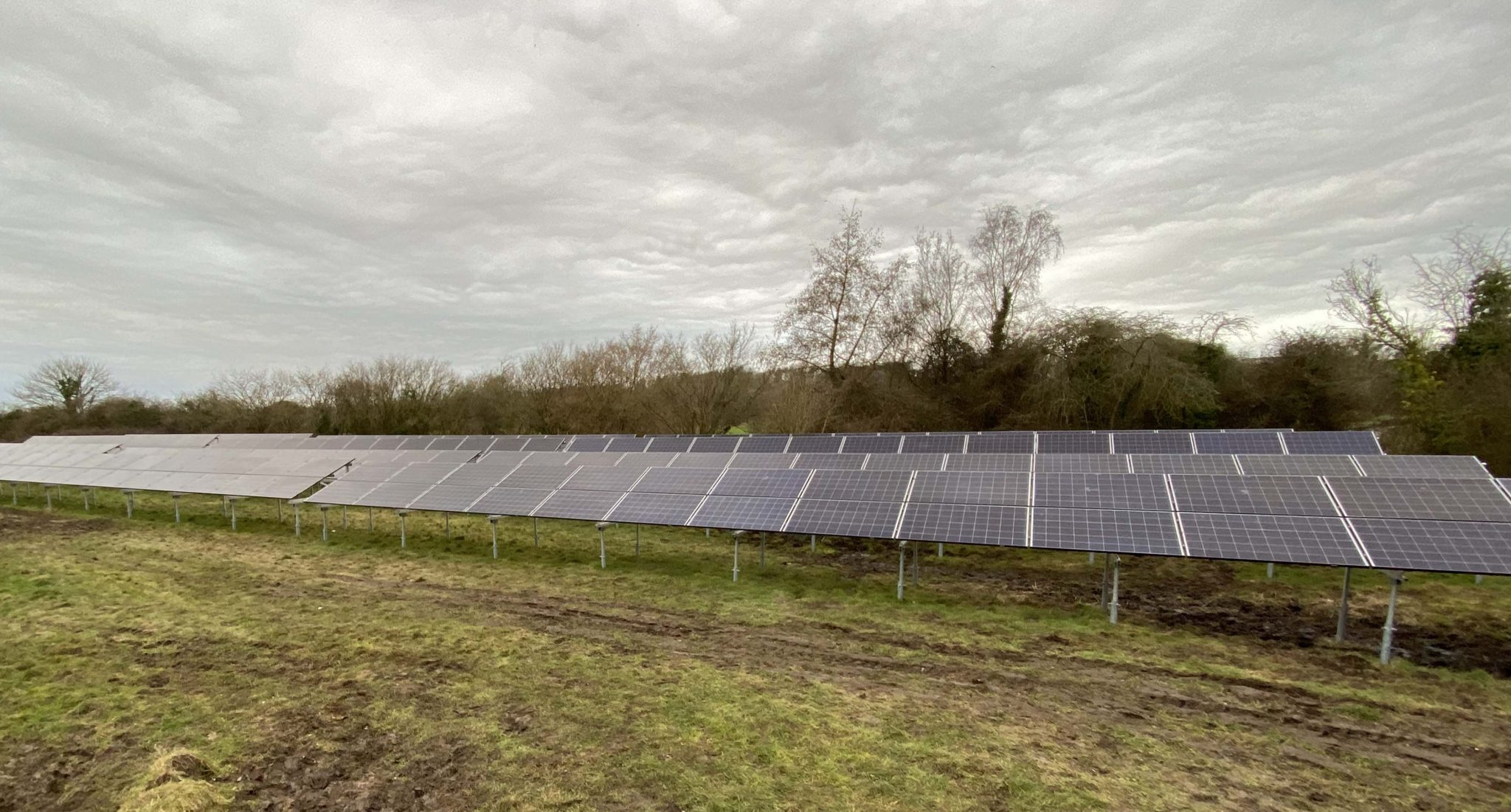 Commercial Solar Installation For Athelhampton
