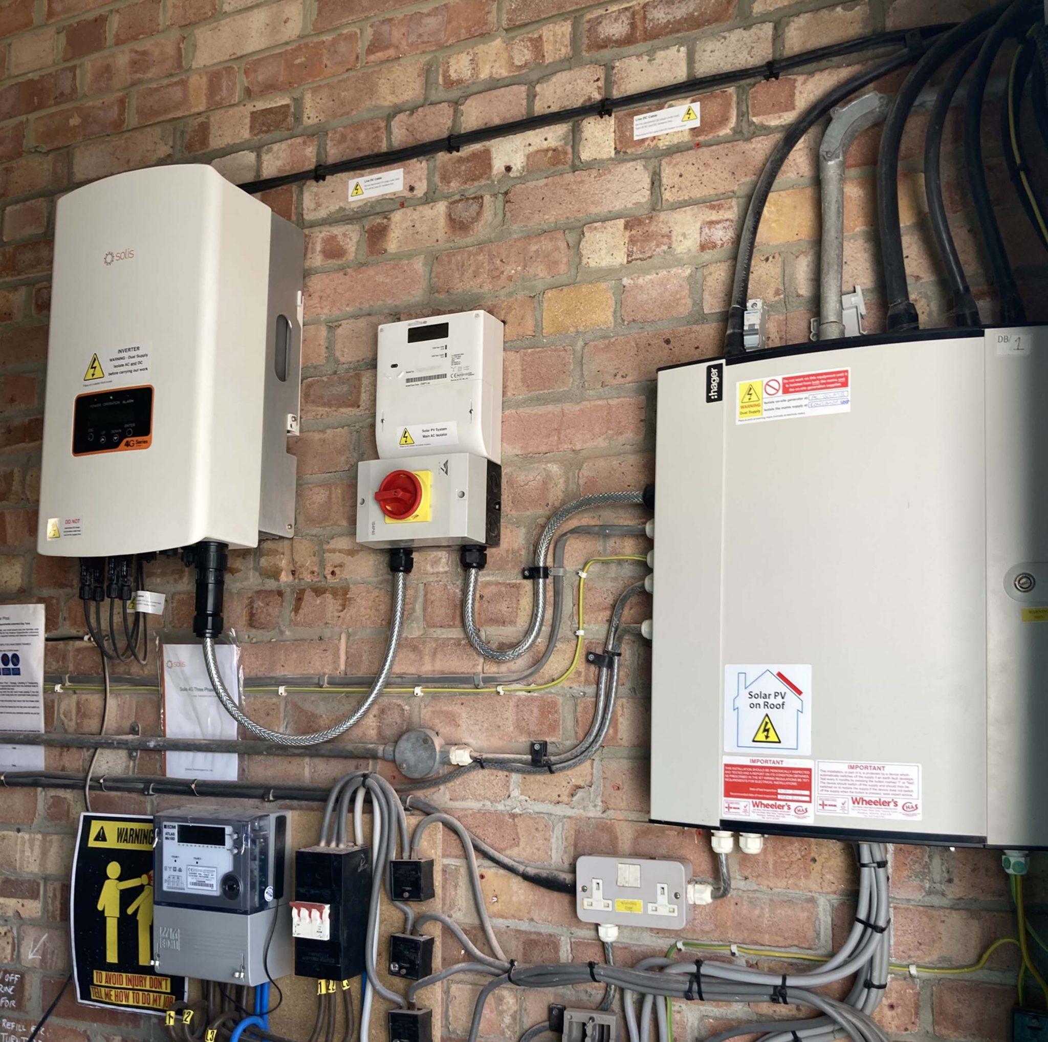 Solar Installation For Client In Tisbury