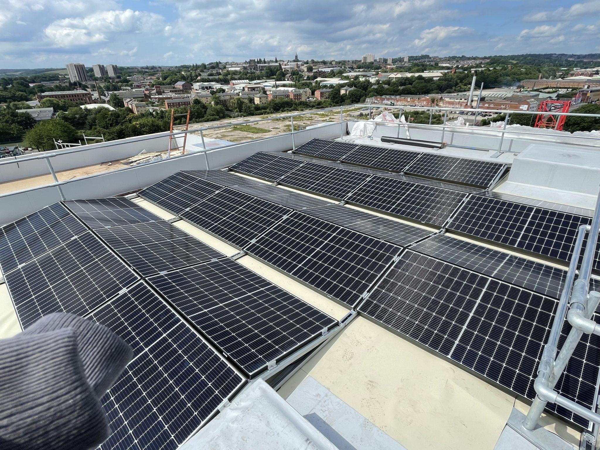 Commercial Solar Installation In Leeds