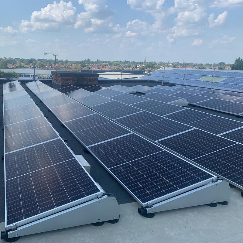 viadex rooftop installation