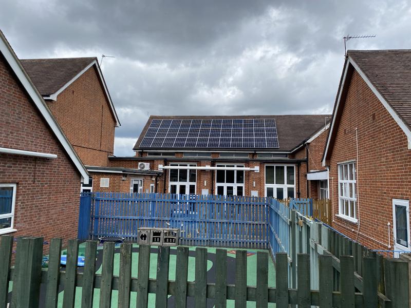 linwood school solar 2 pics
