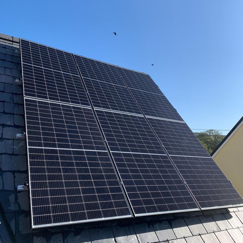 domestic solar on panels
